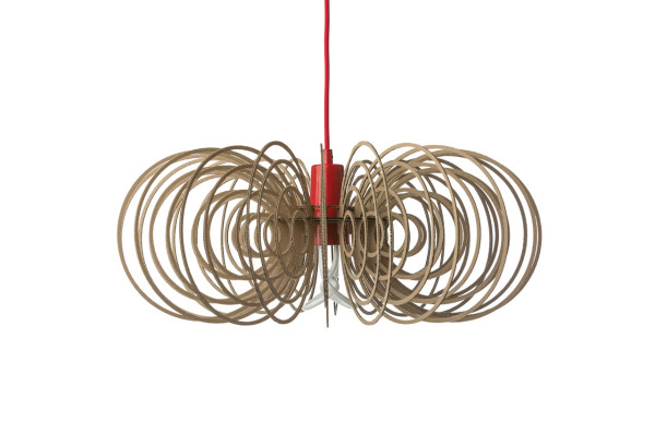 Plumen drop cap pendant by designer Laura Wellington (via design-milk.com)