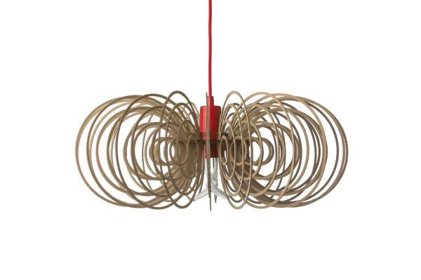 Plumen drop cap pendant by designer Laura Wellington