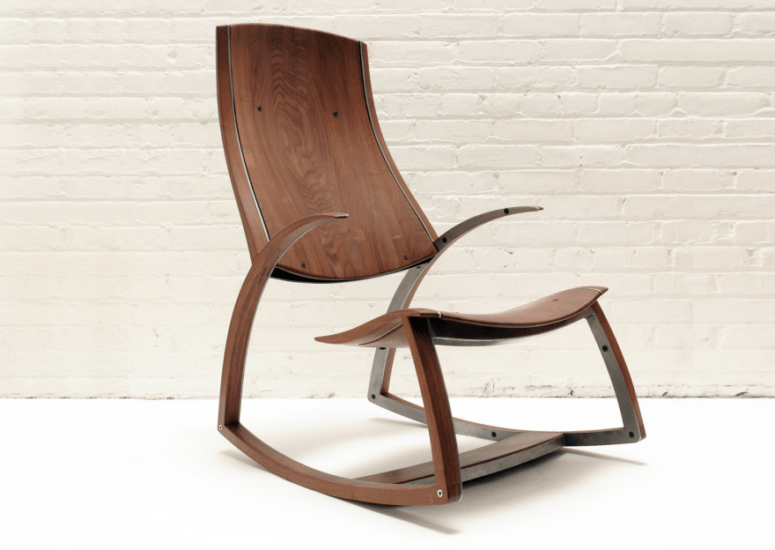 Rocker No.1 chair by Reed Hansuld (via www.core77.com)