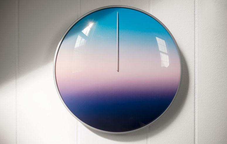 24-hour Clock by Scott Thrift (via design-milk.com)