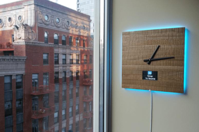 Ingrein Smart Clock by Sergio Zamora (via www.core77.com)