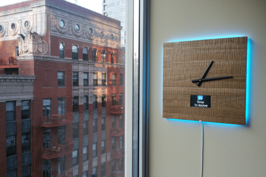 Ingrein Smart Clock by Sergio Zamora