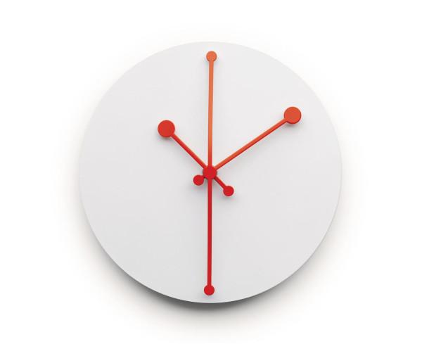 Dotty Clock by Abi Alice (via design-milk.com)