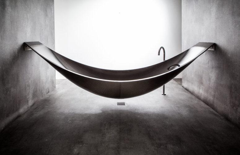Vessel tub by Splinter Works (via www.designboom.com)