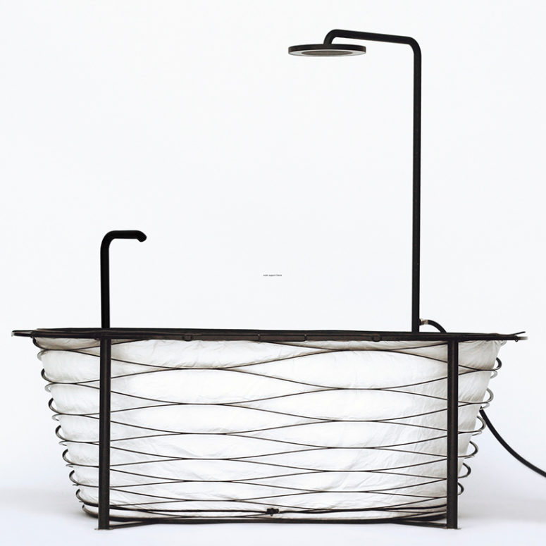 Xtend bathtub by Carina Deuschl (via www.designboom.com)