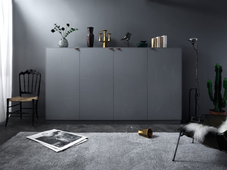 A Fresh Take On Your IKEA Sideboard: Delirium Collection