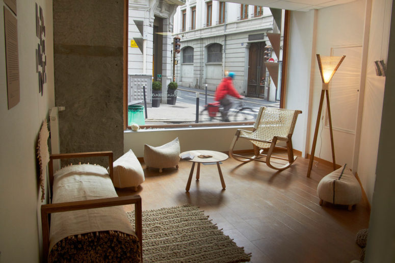 Quintessence furniture collection is inspired by traditional Romanian and Moldovian craftsmanship