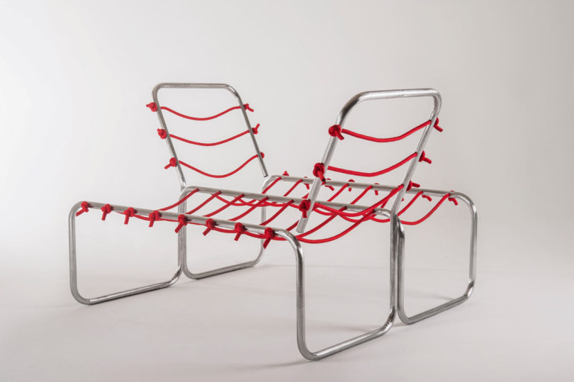 If you want to sit alone, just fix the knots as you want and you won't have to balance