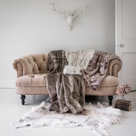 a blush velvet loveseat will be a perfect fit for a feminine space