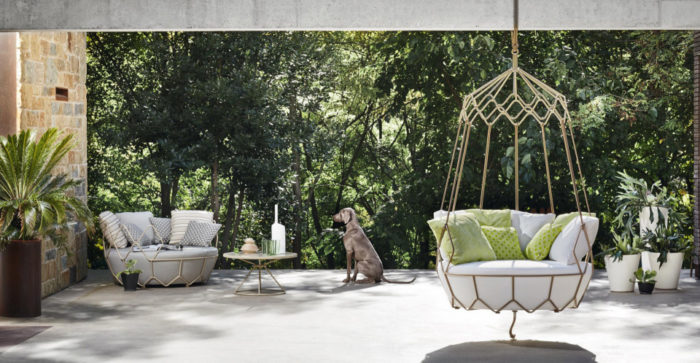 Sunbrella is used for upholstery, it's water-resistant and won't fade