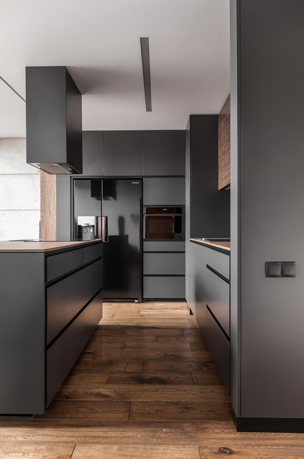 masculine kitchen design