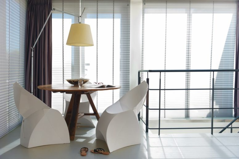 Flux will definitely make your space look trendy and you can take it with you whenever you want