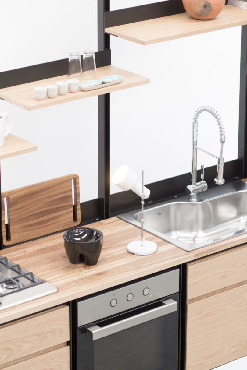 Get a chic and modern kitchen and enjoy the design and practicality that it offers