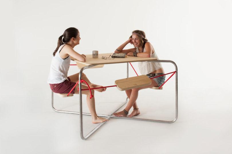 nice picnic table