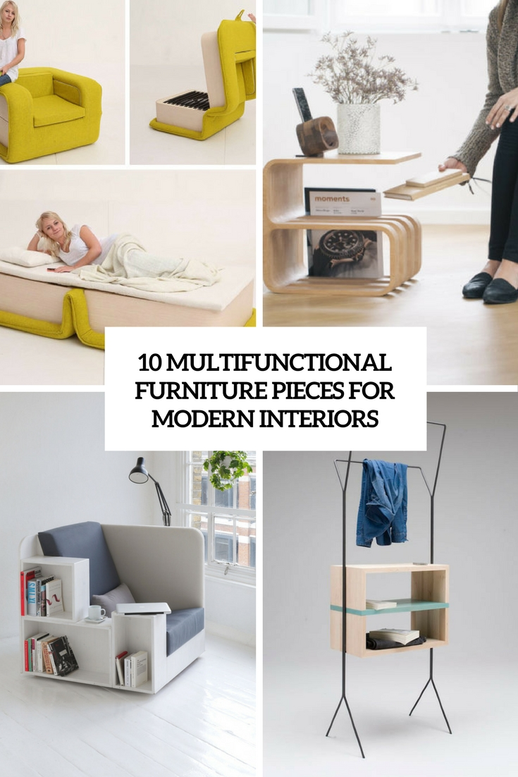 10 Multifunctional Furniture Pieces For Modern Interiors