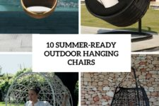 10 summer-ready outdoor hanging chairs cover