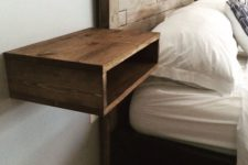 17 minimalist open box bedside table is an idea that will fit many spaces