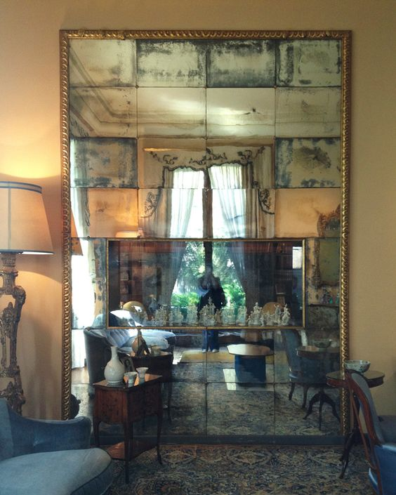 Themes For Baby Room Antique Mirrors: 25 Sophisticated Antique Mirror Ideas For Your Home