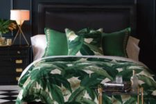 25 a banana leaf print is amazing for adding a summer or tropical cheer to the space