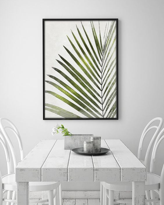30 Stylish And Timeless Tropical Leaf D 233 Cor Ideas Digsdigs