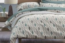 27 chatham leaf bedding in shades of green for a peaceful and eco-friendly bedroom