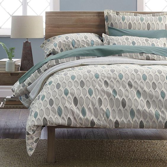 Your Organic Bedroom: 30 Printed Bedding Sets To Refresh Your Bedroom
