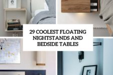 29 coolest floating nightstands and bedside tables cover