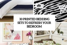 30 printed bedding sets to refresh your bedroom cover