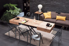 Cristallo table by Resource Furniture