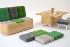 Convertible furniture by Julia Kononenko