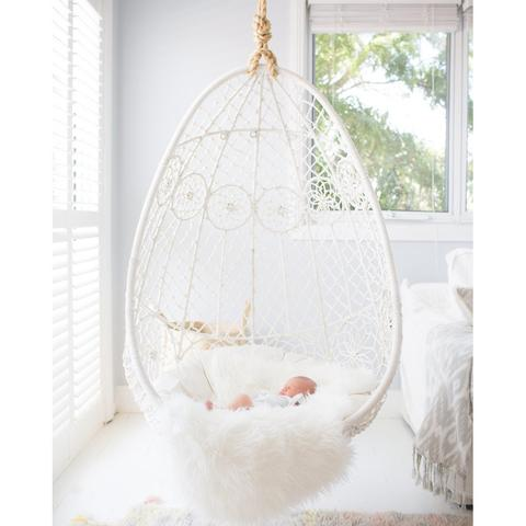 Gypsy Hanging Chair by Cranmore (via https:)