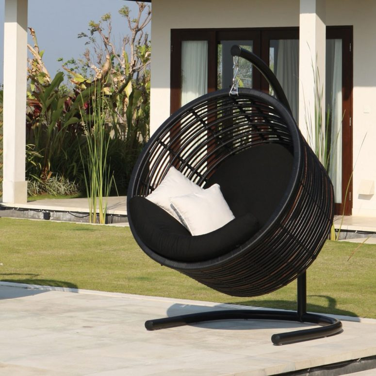Skyline Fabio Hanging Chair by Houseology (via https:)