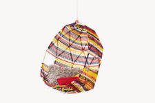 Tropicalia hanging chair by Moroso