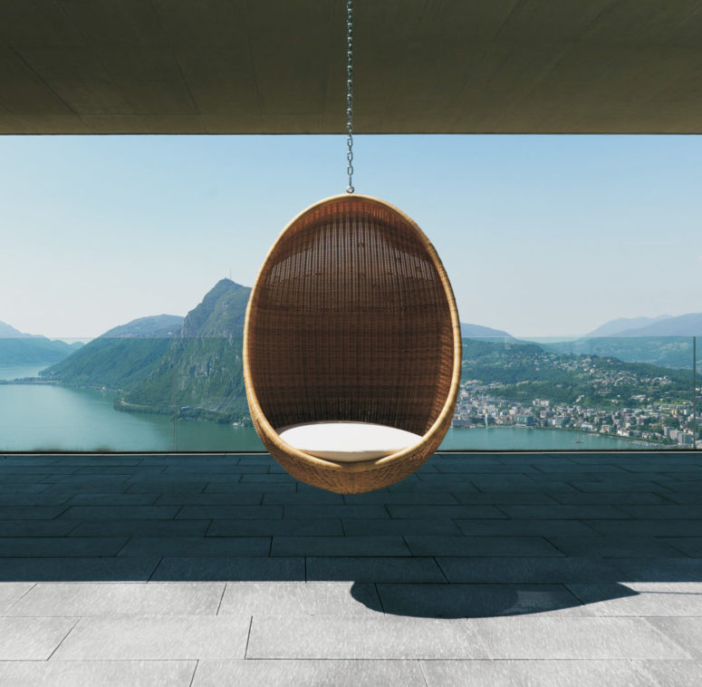 Egg Chair by Nanna Ditzel (via design-milk.com)