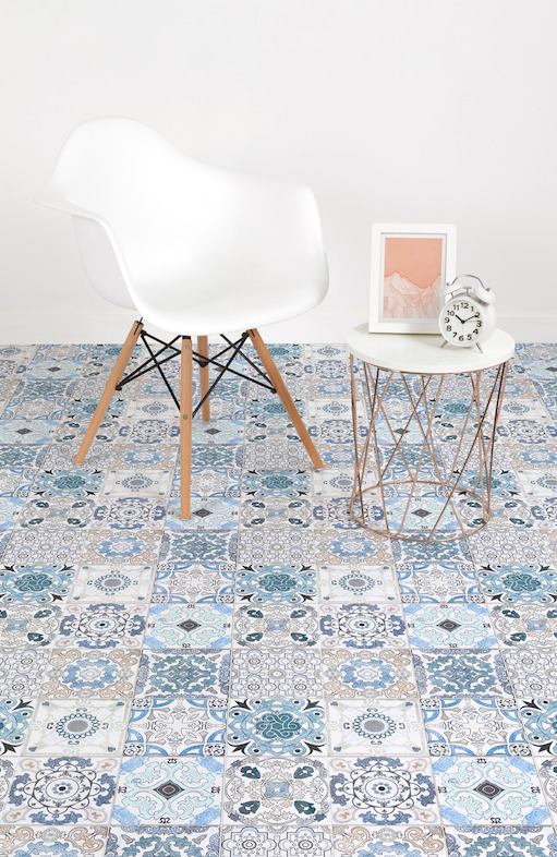 Vinyl Flooring Collection Inspired By Azulejos