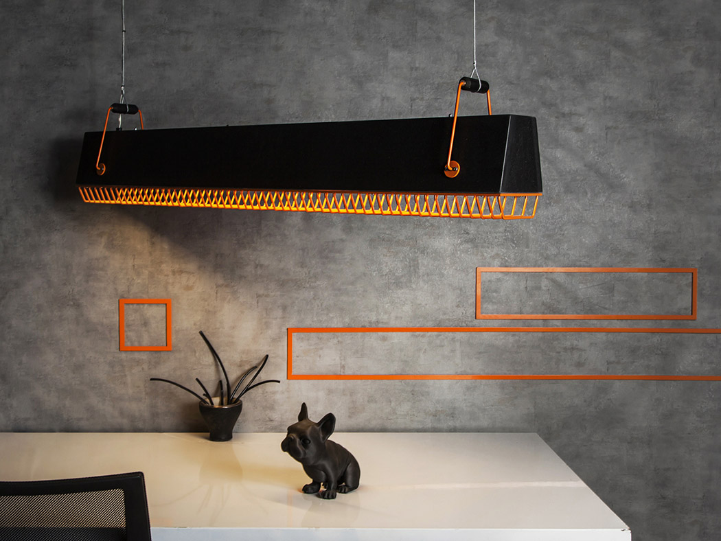 Quattro pendant light is a chic piece with an industrial feel and a bold look, it's great for many spaces but especially for masculine and industrial ones