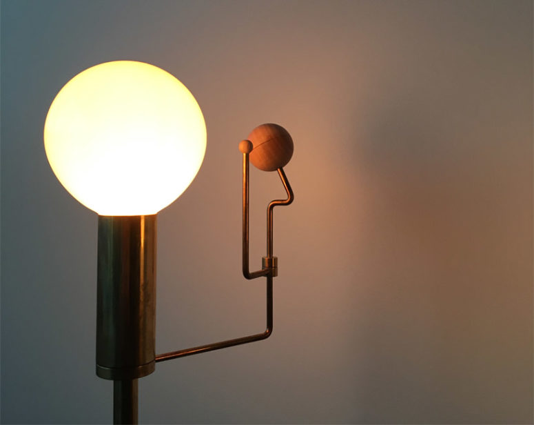 Orrery Lamp Inspired By The Solar System