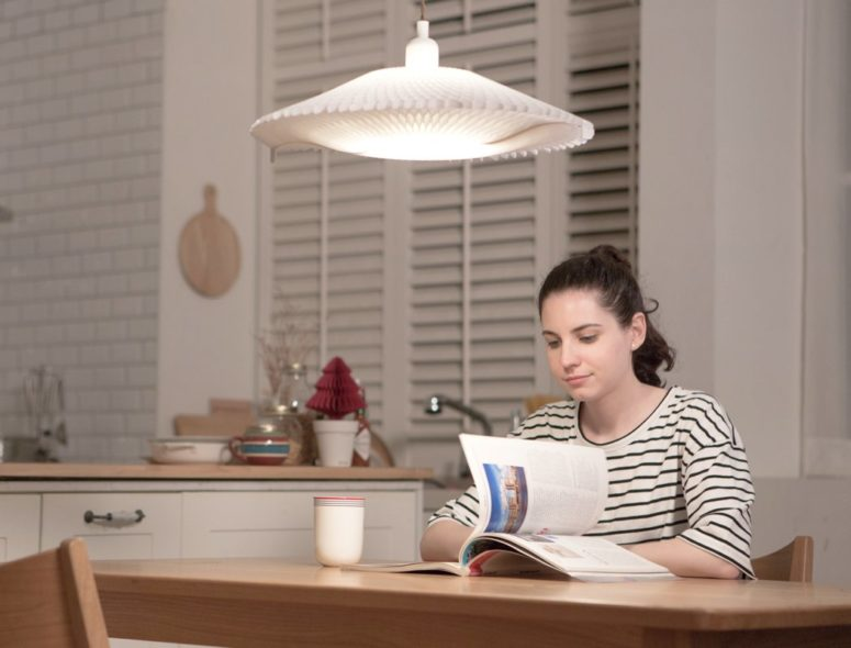The jellyfish esque D'Light makes a beautiful addition to any home and it can adapt to your mood easily