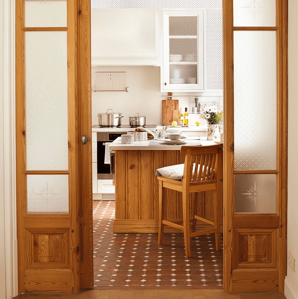 Small L-Shaped Kitchen With Maximal Functionality