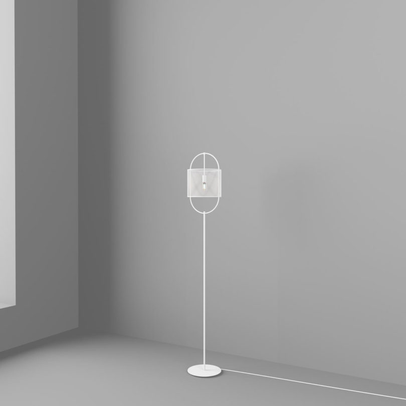 The lamps are available in floor, pendant and table versions and you can choose the one that fits your interior