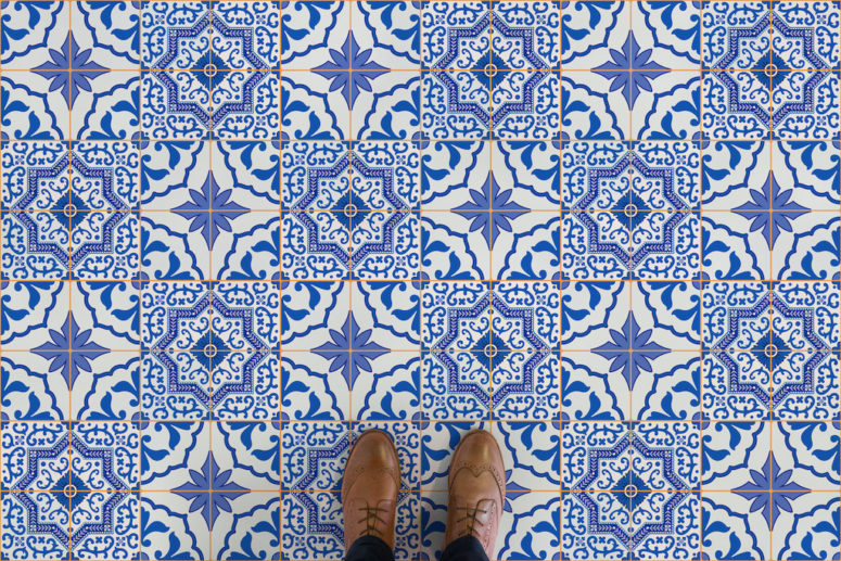 Azulejos is cheerful Prtuguese-inspired classics