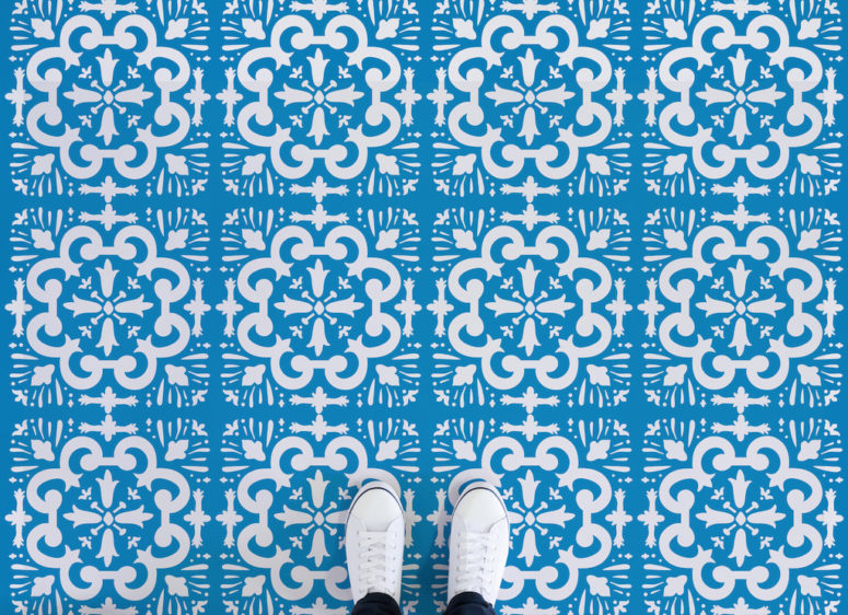 Porto doesn't look like tiles but is bold and chic
