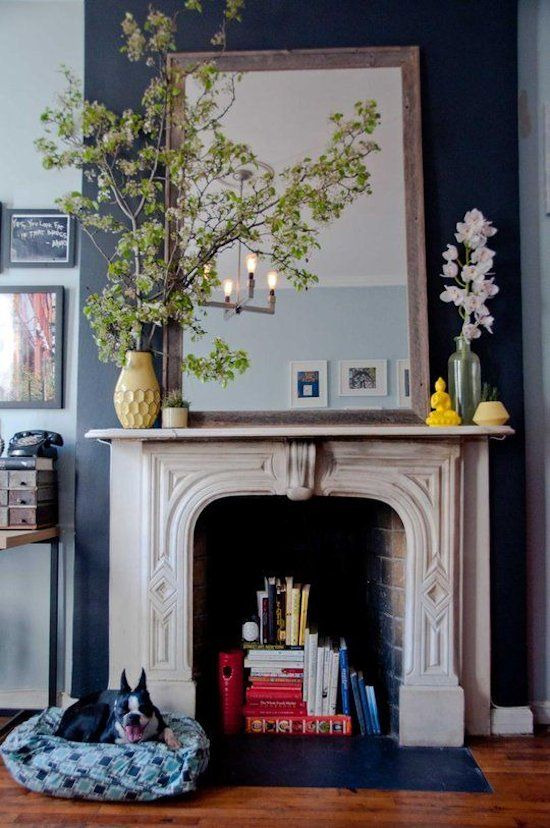 How To Style An Antique Fireplace 27 Ideas Digsdigs