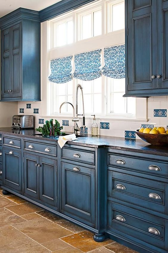 30 Gorgeous Blue Kitchen Decor Ideas Digsdigs