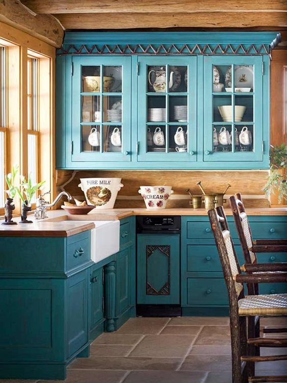 Turqoise Kitchen: 30 Gorgeous Blue Kitchen Decor Ideas