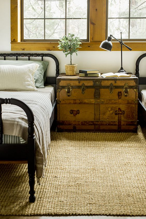 on decorative bed by gorgeous end beadboard trunks of other trunk metro p bedroom
