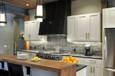 20 a two-level kitchen counter is ideal to fit every decor space – the kitchen and the living room around