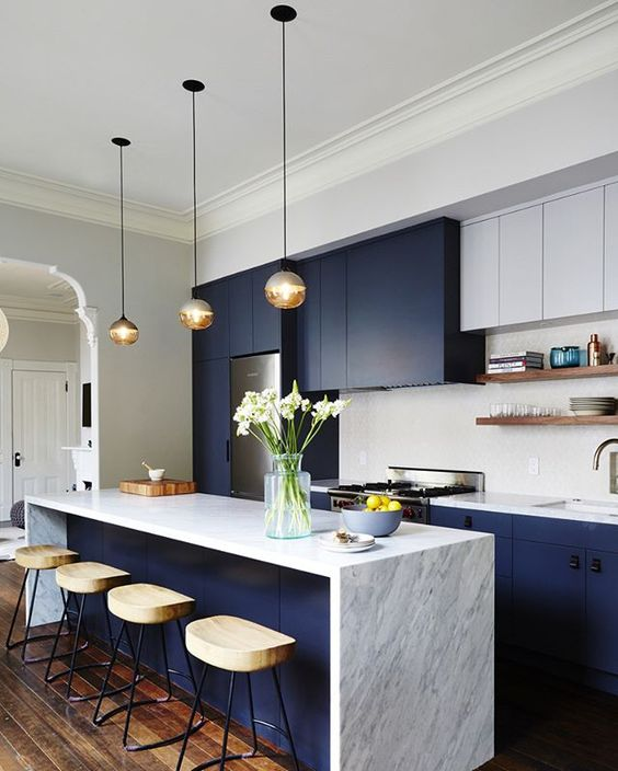 Kitchen Island You Can Eat At: 25 Stylish Kitchen Bar Counters For Open Layouts