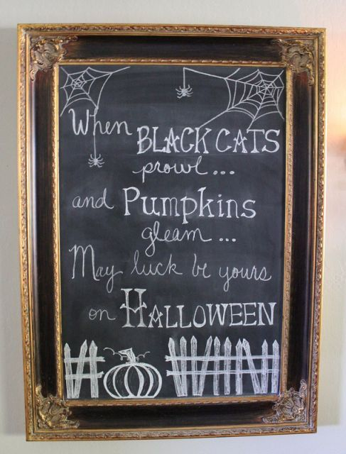 40 Cool Halloween Signs For Indoors And Outdoors Digsdigs
