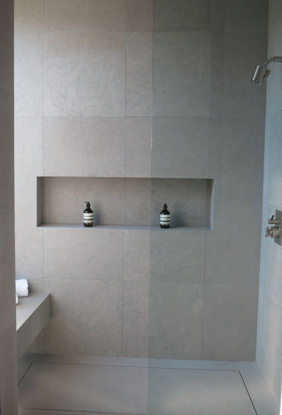 Attractive Large Wall Tiles Bathroom Interior Design Ideas Decor Tile